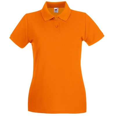 Тениска поло - ОРАНЖ