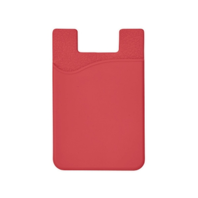 Силиконов калъф за смартфон - червен