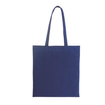 Памучна торбичка синя