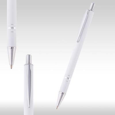 Метална химикалка Ринг 26950 - бяла - мат
