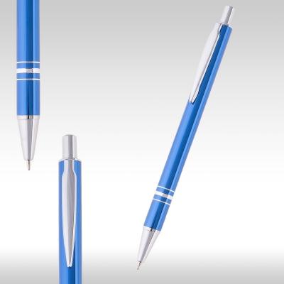 Метална химикалка Ринг 26951 - синя - металик
