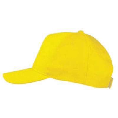 Бейзболна шапка ВС-002, жълта