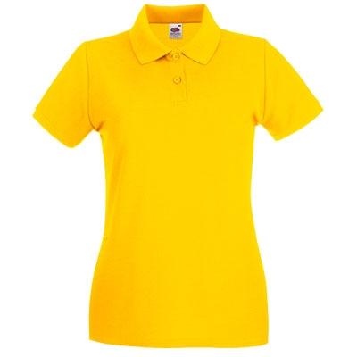 Тениска поло - ЖЪЛТА