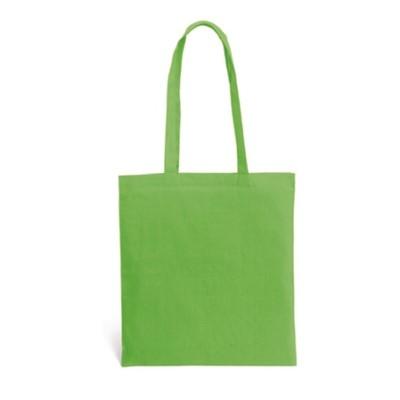 Памучна торбичка зелена